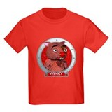 Winky's Red Portrait T
