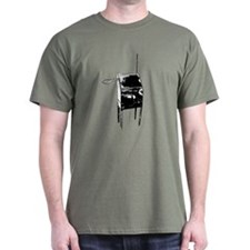 Vintage Theremin Front Color T-Shirt