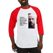 """Dostoevsky """"Lying"""" Baseball Jersey"""