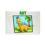 Ray Dinosaur Rectangle Magnet