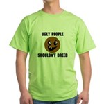 UGLY PEOPLE Green T-Shirt