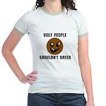 UGLY PEOPLE Jr. Ringer T-Shirt