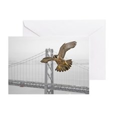 """Gracie with Bridge"" Greeting Card"