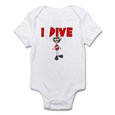 I Dive Infant Bodysuit