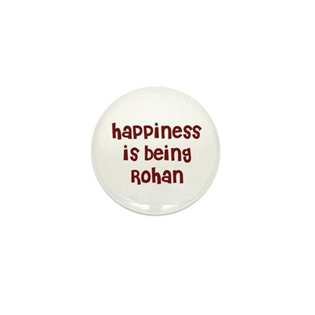 happiness is being Rohan Mini Button (10 pack)