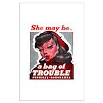 No Bad Evil Women Large Poster