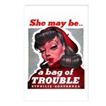 No Bad Evil Women Postcards (Package of 8)
