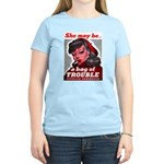 No Bad Evil Women (Front) Women's Light T-Shirt