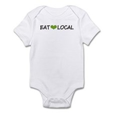 Eat Local Infant Bodysuit