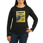 Stop Prostitution (Front) Women's Long Sleeve Dark