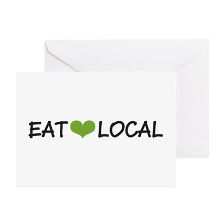 Eat Local Greeting Cards (Pk of 20)