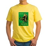 Stop Syphilis VD Yellow T-Shirt