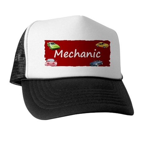 Mechanic Trucker Hat