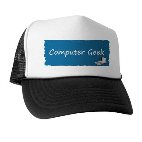 Computer geek Trucker Hat
