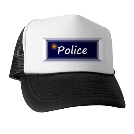 Police Trucker Hat