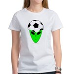 ALIEN SOCCER HEAD Women's T-Shirt
