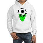 ALIEN SOCCER HEAD Hooded Sweatshirt