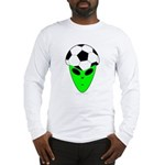 ALIEN SOCCER HEAD Long Sleeve T-Shirt