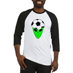 ALIEN SOCCER HEAD Baseball Jersey