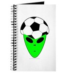 ALIEN SOCCER HEAD Journal