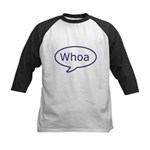 Whoa talk bubble Kids Baseball Jersey