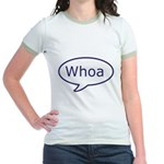 Whoa talk bubble Jr. Ringer T-Shirt