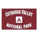 Cuyahoga Valley National Park Sticker (Rectangular