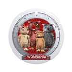 Wombies' Red Group Portrait Ornament (Round)