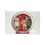 Wombies' Group Portrait Rectangle Magnet (100 pk.)