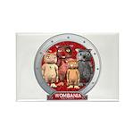 Wombies' Group Portrait Rectangle Magnet (10 pk.)