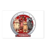 Wombies' Red Group Portrait Postcards (Package of