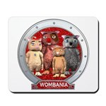 Wombies' Red Group Portrait Mousepad
