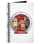 Wombies' Red Group Portrait Journal
