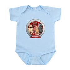 Wombies' Red Group Portrait Infant Bodysuit