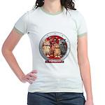 Wombies' Red Group Portrait Jr. Ringer T-Shirt
