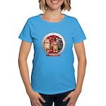 Wombies' Red Group Portrait Women's T-Shirt Dark
