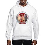 Wombies' Red Group Portrait Hooded Sweatshirt