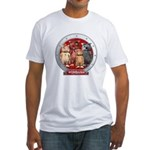 Wombies' Red Group Portrait Fitted T-Shirt
