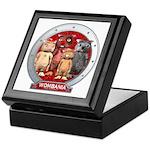 Wombies' Red Group Portrait Keepsake Box