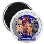 "Wombies' Group Portrait 2.25"" Magnet (100 pac"