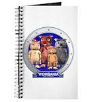 Wombies' Blue Group Portrait Journal