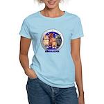Wombies' Blue Group Portrait Women's Light T-Shirt