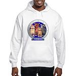 Wombies' Blue Group Portrait Hooded Sweatshirt