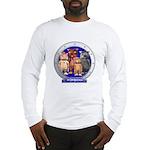 Wombies' Blue Group Portrait Long Sleeve T-Shirt