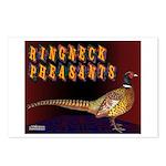 Ringneck Pheasants Postcards (Package of 8)
