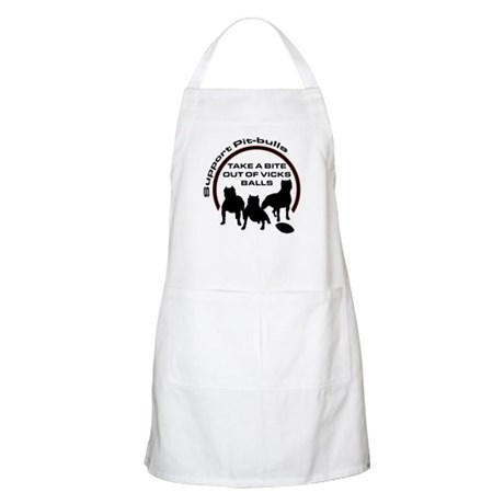Dog fights Vick BBQ Apron