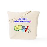 Mathematics teacher Bags & Totes