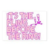 Scott Designs Fling Before The Ring Postcards (Pac