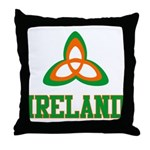 Irish Trinity Throw Pillow