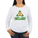 Irish Trinity Women's Long Sleeve T-Shirt
